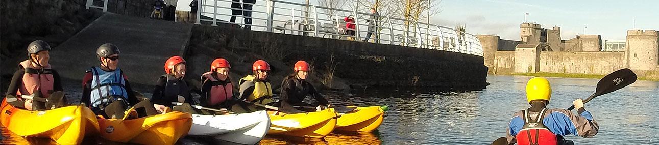 Kayak Ireland - Kayaking Limerick, Kayaking Ireland